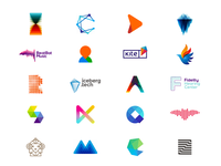 LOGO DESIGN projects created in 2016