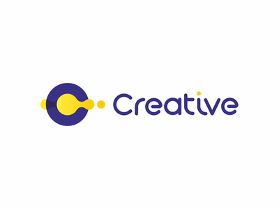 Creative, logo design for multimedia agency letter mark monogram c creative multimedia solutions custom font type logo logo design vector icon mark symbol flat 2d geometric strategy consulting digital marketing web designers developers