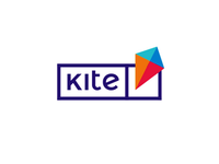 Kite, e-learning platform logo design