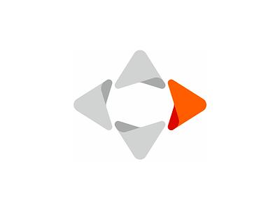 Letter D, direction arrow, logo design symbol redesign refresh rebranding arrows d letter mark monogram web hosting servers wind rose windrose logo logo design vector icon mark symbol flat 2d geometric