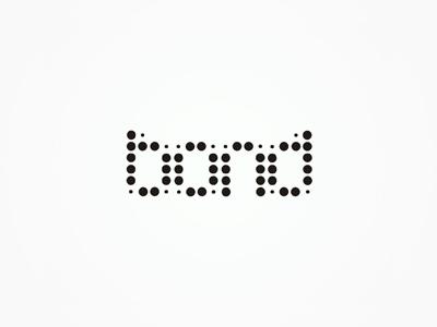 bond experimental logo design