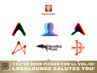 6 babies in LogoLounge book volume 10! logolounge logo lounge book 10 selected logos alex tass featured logo designer logo design letter mark colorful dynamic creative