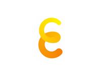 E letter mark, Energy and Events, logo design