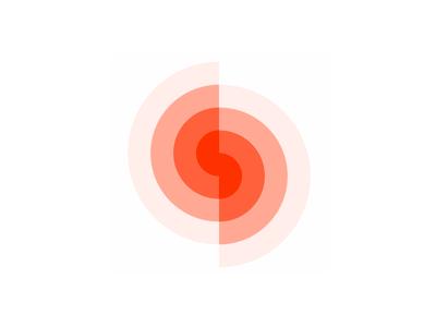 S, spin, spiral, letter mark, logo design symbol beams rays negative space depth swirl sun letter mark monogram s letter mark monogram spiral spin spinner logo logo design vector icon mark symbol flat 2d geometric