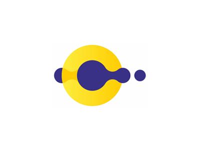 C letter mark + drops, logo design symbol letter mark monogram c web designers developers digital marketing strategy consulting flat 2d geometric vector icon mark symbol logo design logo drops droplets multimedia solutions creative