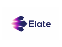 Elate, events, entertainment, logo design