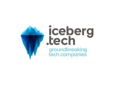 Iceberg Tech Companies Hub Logo Design By Alex Tass Logo Designer