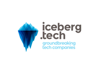 Iceberg, tech companies hub, logo design