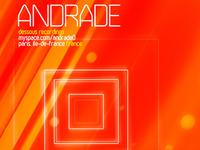 Andrade poster design