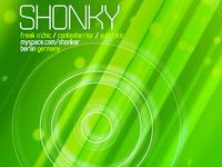 Shonky poster design