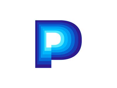 PowerPing, P letter mark for server monitoring software