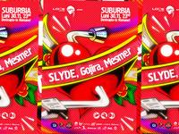 Slyde poster design
