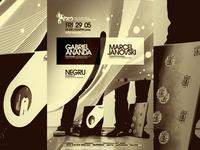 Gabriel Ananda, Marcel Janovski @ SM poster design