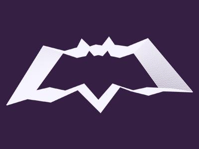 Alextass com inception bat logo design