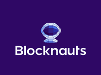 Blocknauts, logo design for blockchain consultancy firm