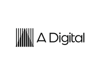 A. Digital, logo design for digital marketing agency