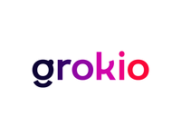 Grokio, logotype word mark for social network dating communities