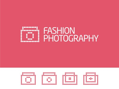 Fashion Photography logo design creative colorful logo design logo design logo designer typography brand identity branding beauty woman women clothing apparel fashion photography blog camera photo photo camera purse button buttons accesories