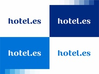 hotel.es logotype / word mark / logo design