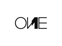 ONE / 1, creative word mark / logotype / logo design