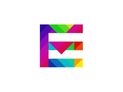 EM monogram / Elements Culture logo design symbol