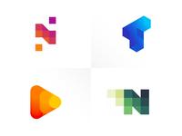 2018 Top 4 logos