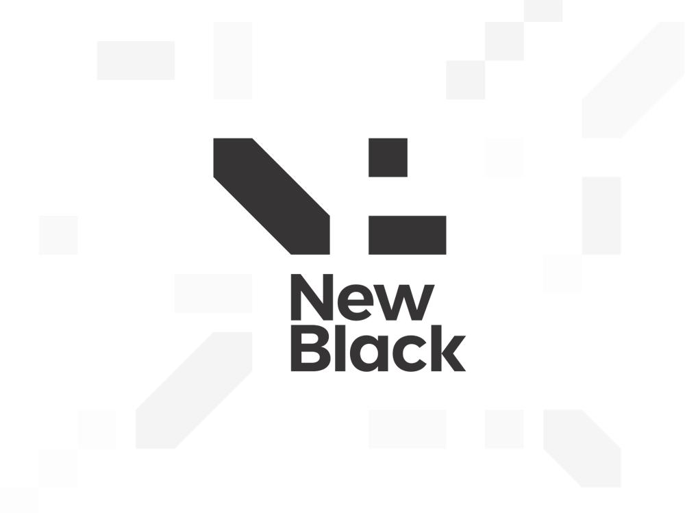 Newblack logo design exploration by alex tass