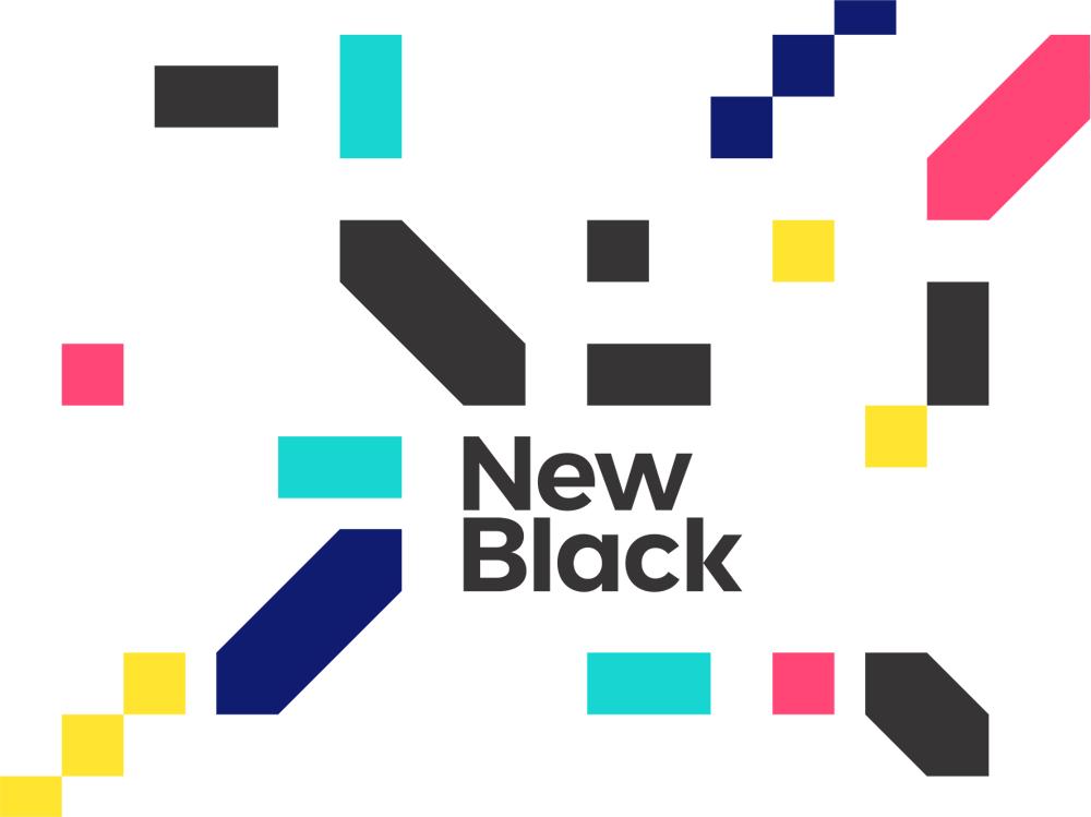 Newblack identity design exploration by alex tass