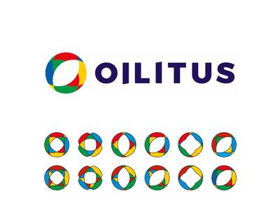 Oilitus, petroleum retailer logo design