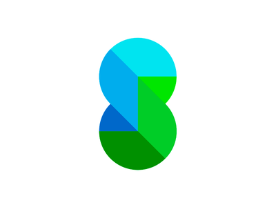 S letter, loop, stairs for infinite learning logo symbol blue green evolution stairs s letter mark monogram infinity infinite learning loop colorful logo logo design vector icon mark symbol flat 2d geometric creative