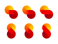 S letter, loop, explorations for infinite learning logo symbol