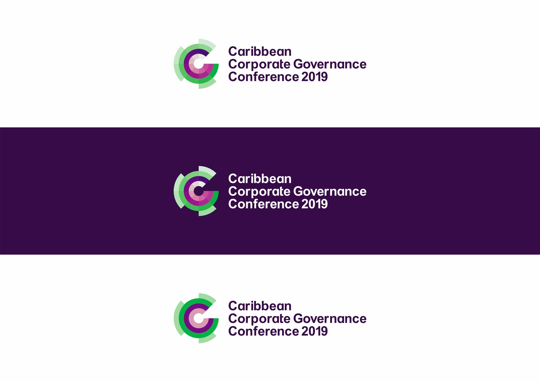 Caribbean corporate governance conference logo design by alex tass