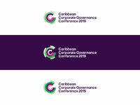 Caribbean corporate governance conference logo design by alex tass