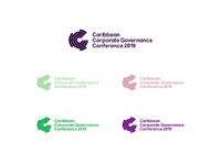 Caribbean corporate governance conference 1 color logo design by alex tass