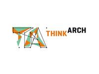 ThinkArch architecture competition logo design