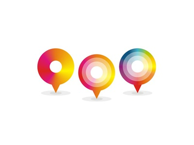 Map marker / logo design symbol. Rebound / links / playoff? :) dots circles spheres spinning wheel google pins map pin pointer blog agency traveler pin pointer locations maps creative colorful featured awarded visual corporate identity startups start ups start-ups tours tourism touristic logo logo design logo designer branding custom made map marker location pointer google maps pin rebound playoff travel traveling travelling travel agency