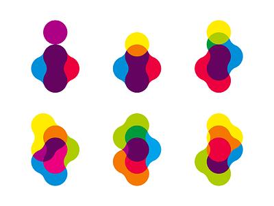 Colorful, organic i letter mark - Inspire logo design inspiration inspire colorful organic dynamic i letter mark monogram logo logo design vector icon mark symbol flat 2d geometric creative