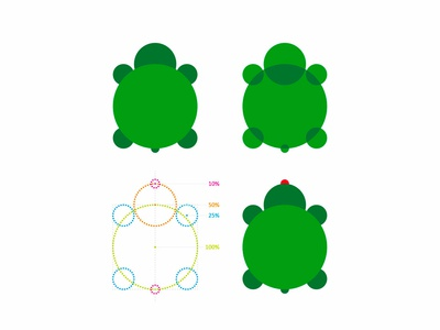 Turtle logo symbol exploration + grid