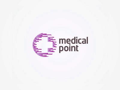 Medical point logo design alex tass
