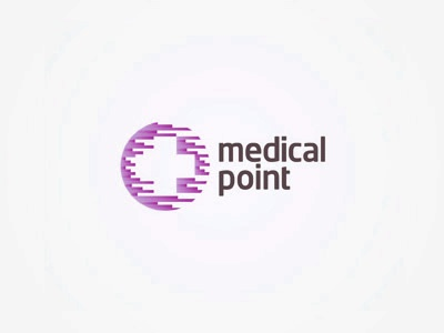 Medical Point logo design heatlhcare health creative colorful logo design logo design logo designer logotype type typography typographic brand identity branding custom made custom medical point purple distribution beauty cosmetic aesthetic medicine medicinal market