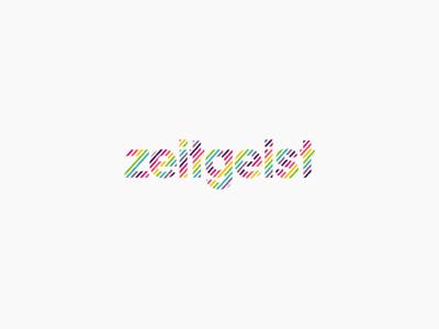 Zeitgeist logo design by alex tass