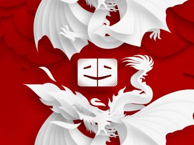 Ego alterego com art design blog logo illustrations  2