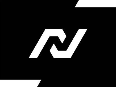 N in Negative Space, logo exploration