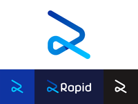 R: Rapid / rabbit, logo design for workforce management software
