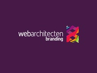 Web Architecten logo design sub-branding: Branding