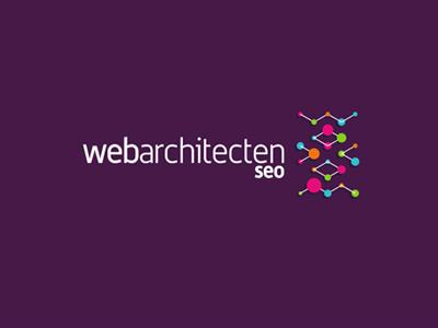 Web architecten seo sub branding purple logo design by alex tass