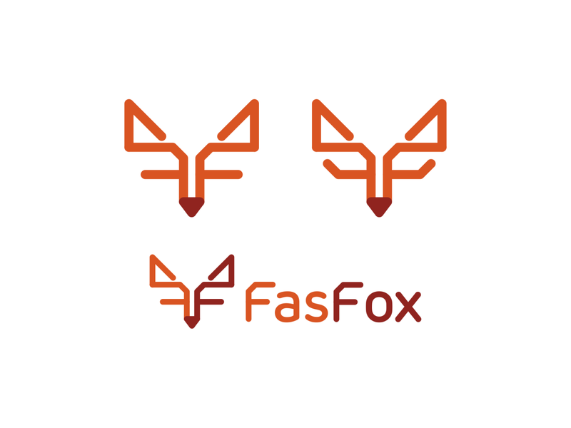 Fox, FF monogram, logo design for technology consultant ff f letter mark monogram fox brand identity branding creative flat 2d geometric vector icon mark symbol logo design logo automating tools advanced backend systems system architecture digital solutions fintech consultant tech technology technologies cutting edge