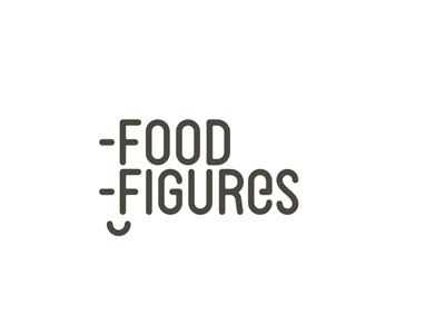 Food figures diet program logo design by alex tass