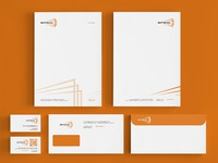 Vertikal lecture hall stationery design by alex tass