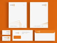 Vertikal lecture hall stationery design